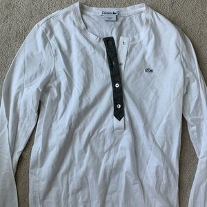 Lacoste long sleeve shirt!